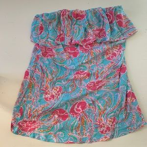 Tops - Lilly Pulitzer strapless top